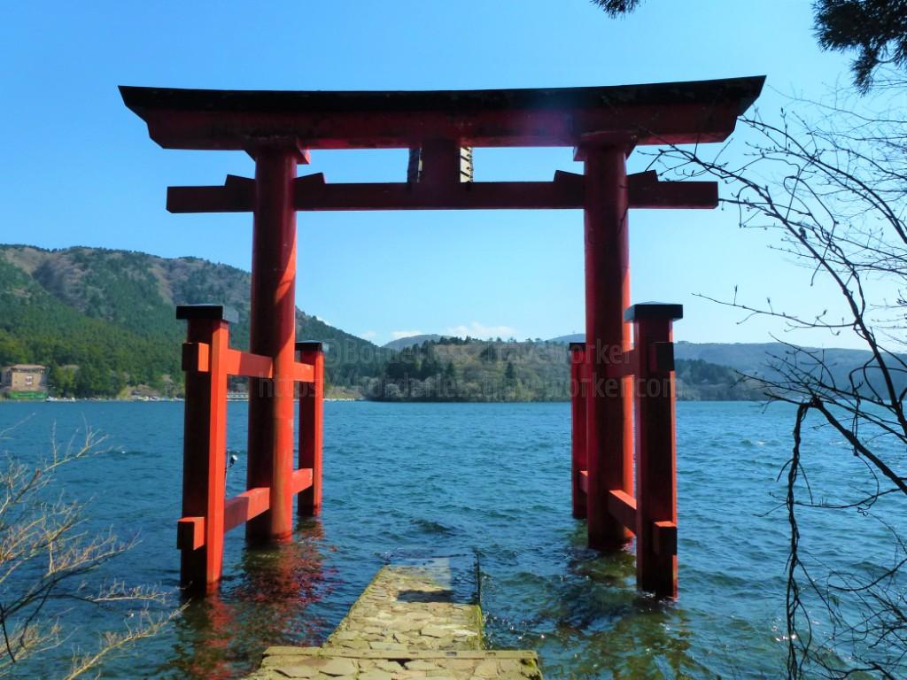 神奈川県・箱根の「芦ノ湖」