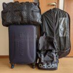 1週間分の荷物の画像